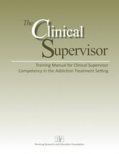 ClinicalSupervisorCover